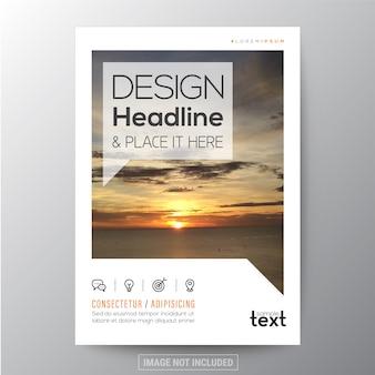 Conception de modèles polyvalents pour brochure d'affiches ou couverture de livre
