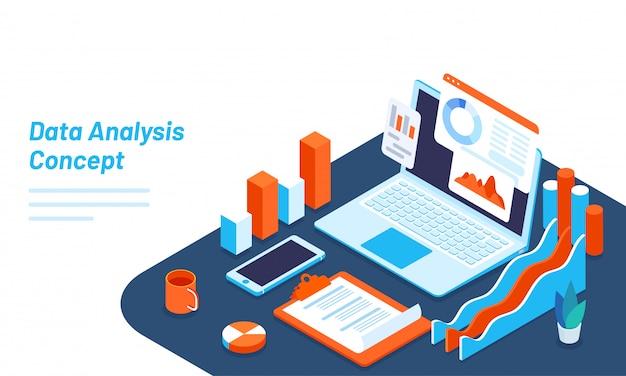 Conception de modèles web réactifs pour l'analyse de données.