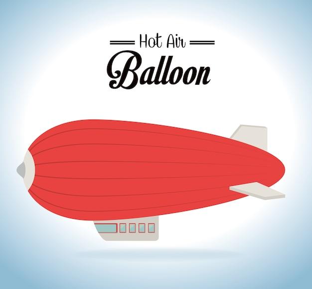 Conception de montgolfière