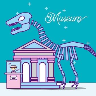 Conception de monuments de musée