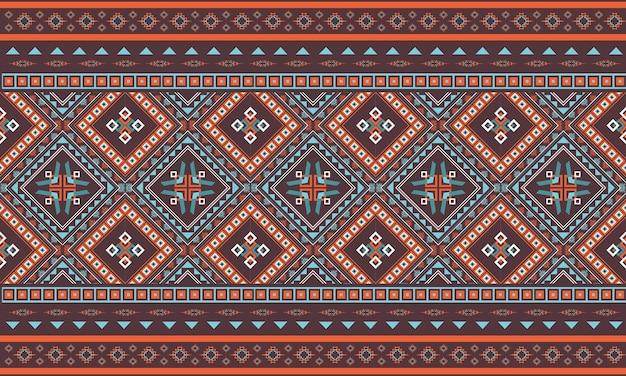 Conception de motif géométrique ethnique abstrait pour le fond ou le papier peint.