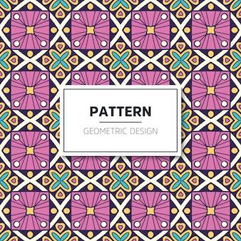 Conception de motif géométrique de luxe