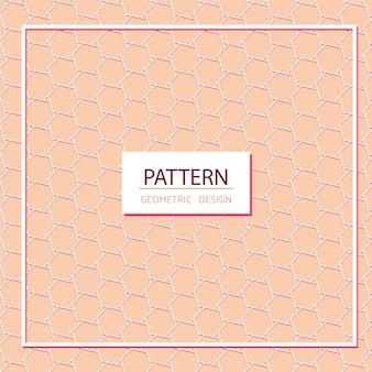 Conception de motif géométrique polygone