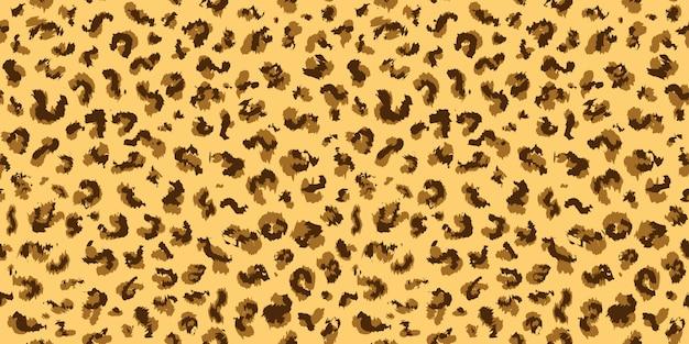 Conception de motif léopard