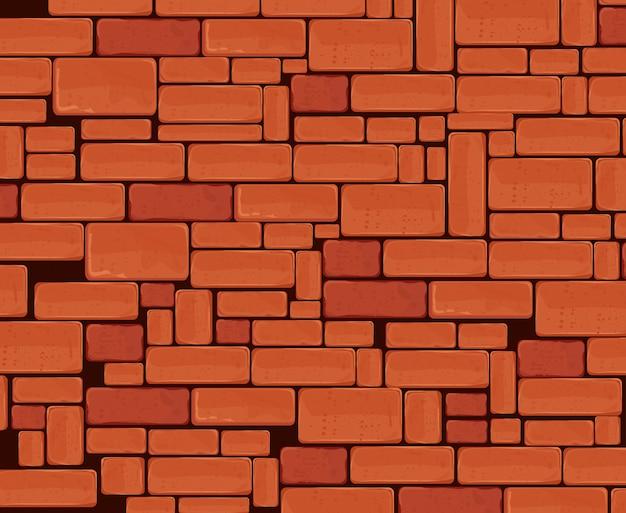 Conception de mur de brique.