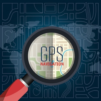 Conception de navigation gps