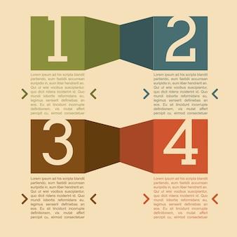 Conception de nombres au cours de l'illustration vectorielle fond rose