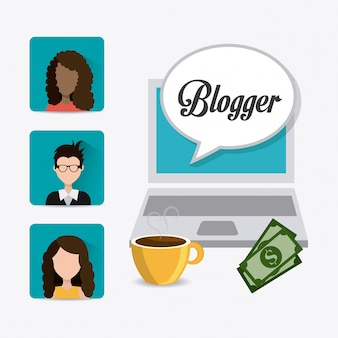 Conception numérique blogger.