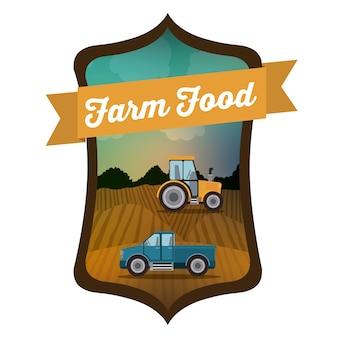 Conception numérique farm food