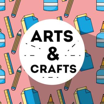 Conception d'objets créatifs d'art et d'artisanat