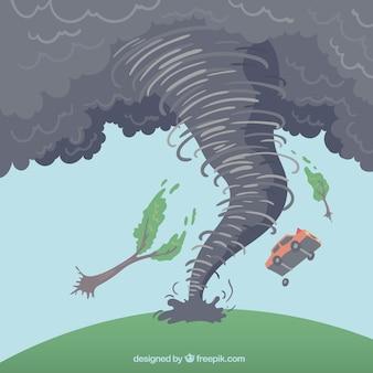Conception d'ouragan