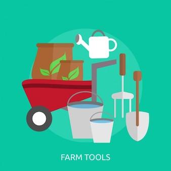La conception d'outils agricoles