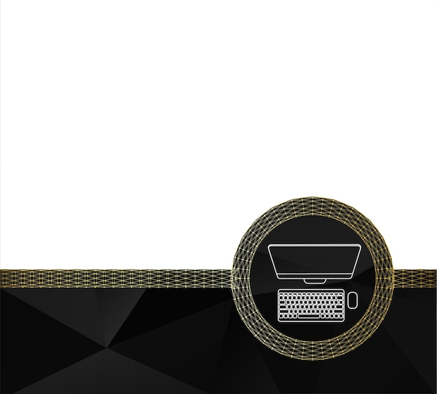 Conception de page de modèle. fond géométrique polygonal de triangles. concept créatif papier à en-tête de fond et brochure pour les entreprises. illustration vectorielle
