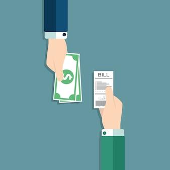 Conception paiement de fond
