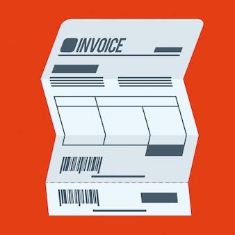 Conception de paiement, illustration vectorielle.