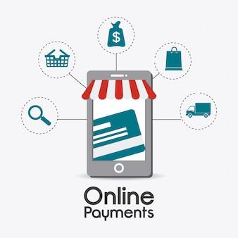 Conception de paiements en ligne.