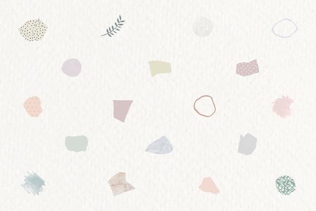 Conception de papier peint note papier déchiré