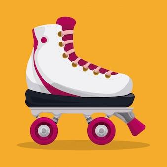 Conception de patins.