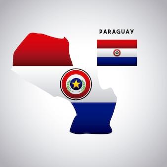 Conception de pays paraguay