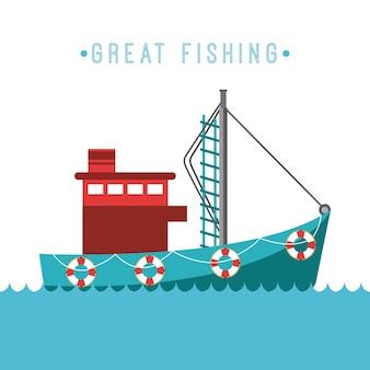 Conception de la pêche