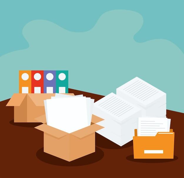 Conception de piles de documents