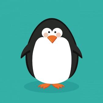 Conception de pingouin