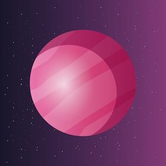 Conception de planètes spatiales