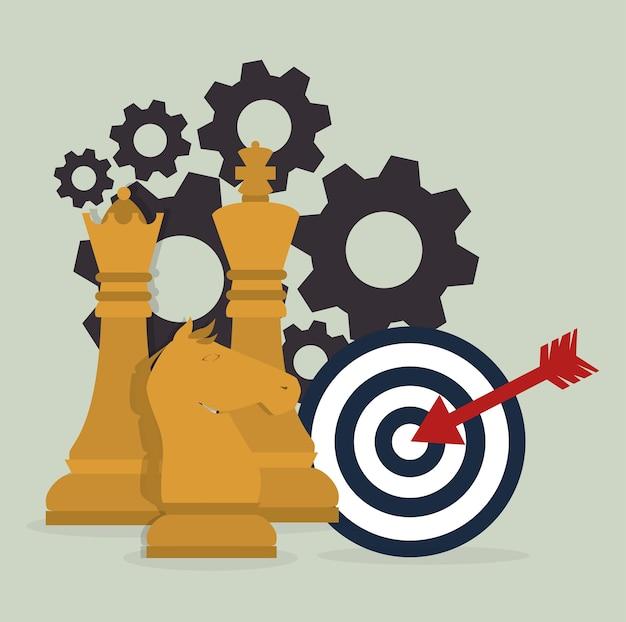 Conception de la planification stratégique.