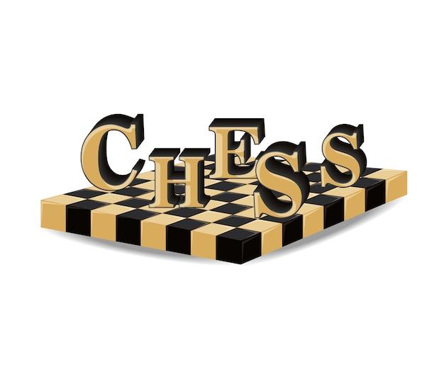 Conception de plateau d'échecs