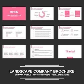 Conception de présentation brochure