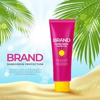 Conception de publicité cosmétique