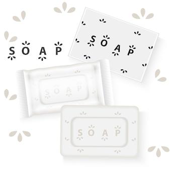 Conception de publicité de savon