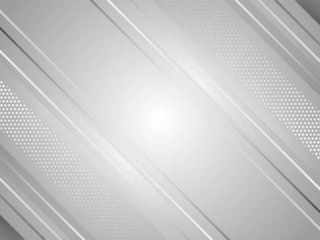 Conception de rayures abstraites modernes couleur grise