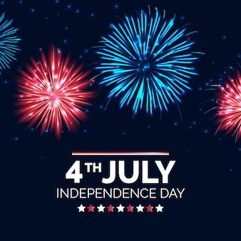 Conception réaliste de la fête de l'indépendance