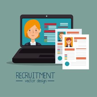 Conception de recrutement de ressources humaines virtuelles