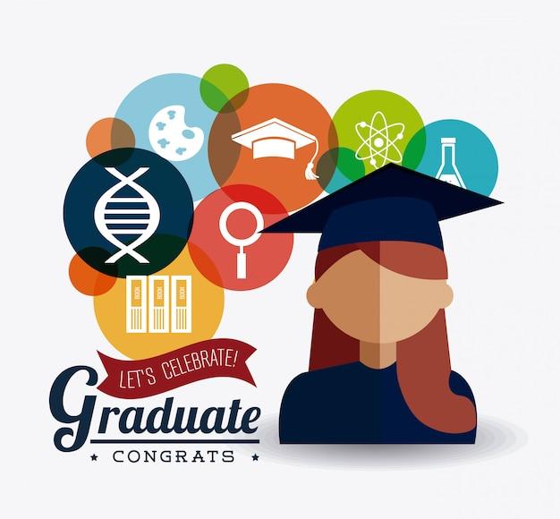 Conception de la remise des diplômes