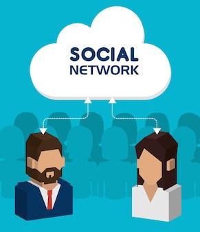 Conception de réseau social.