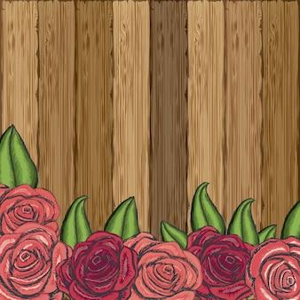 Conception de roses