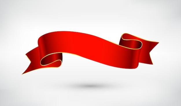 Conception de ruban rouge