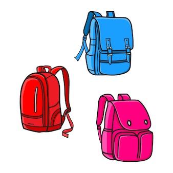 Conception de sac d'école