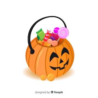 Conception de sac d'halloween