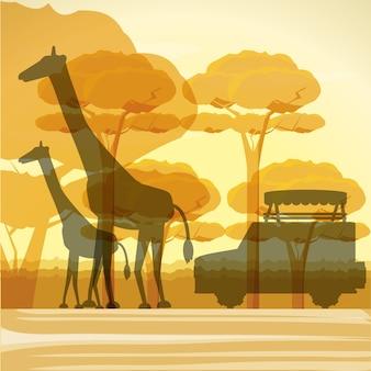 Conception de safari africain