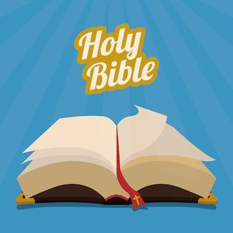Conception de la sainte bible.