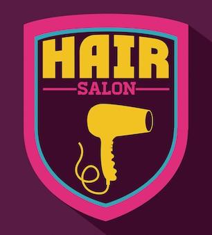 Conception de salon de cheveux