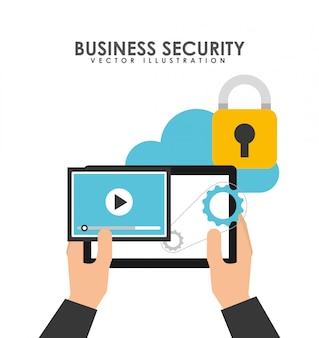 Conception de sécurité d'entreprise