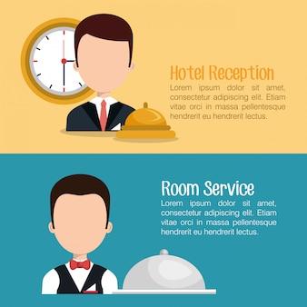 Conception de service d'hôtel