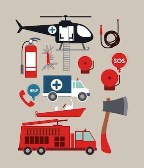 Conception de service d'urgence
