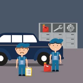 Conception de service de voiture