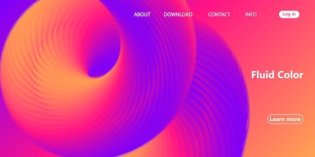 Conception de sites web avec page abstraite