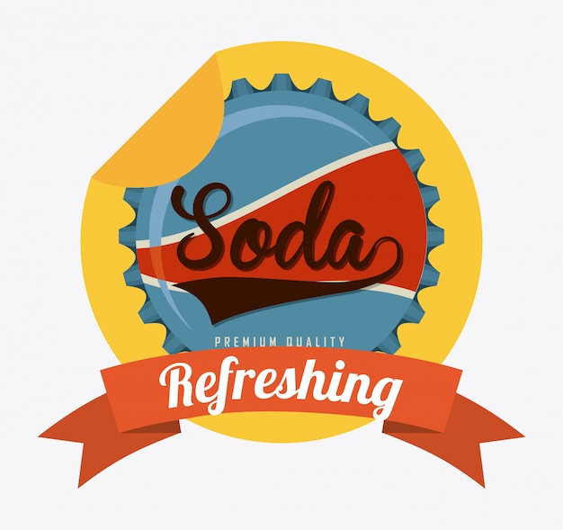 Conception de soda